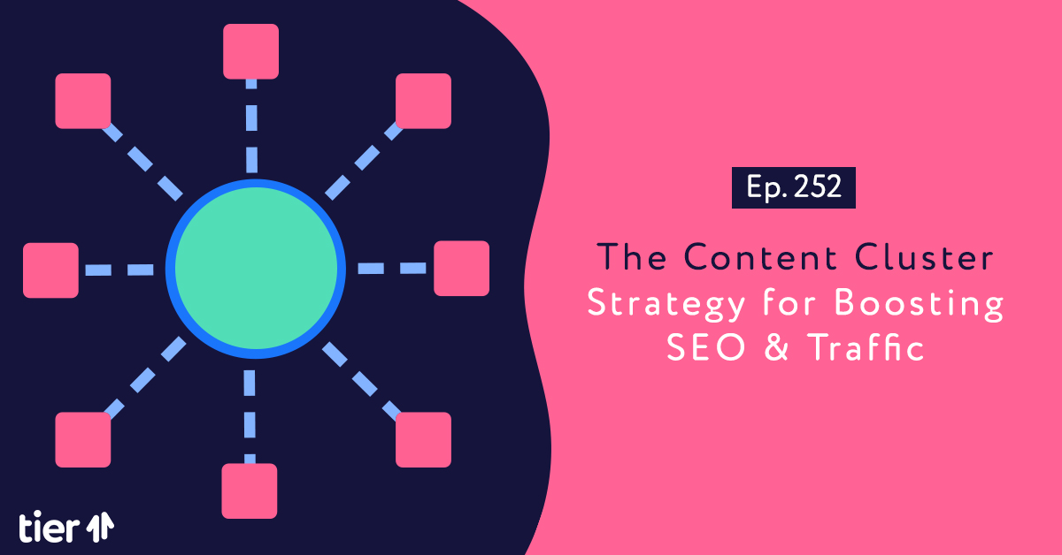 Episode 252: How To Use Content Clusters To Increase Website Traffic