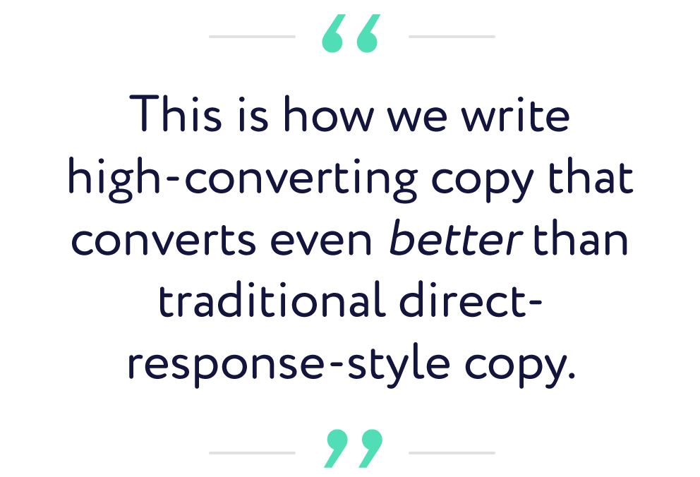 how Tier 11 writes high-converting facebook ad copy process