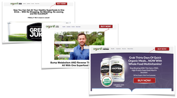 organifi ad examples