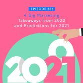 4 Big Marketing Takeaways from 2020 and Predictions for 2021